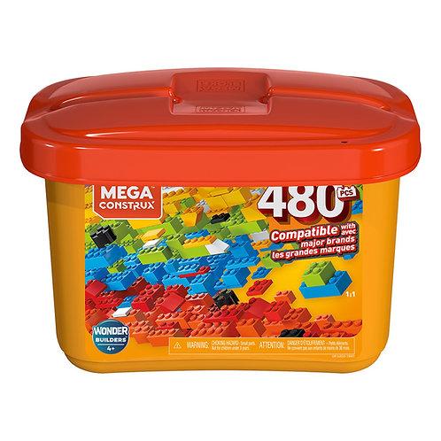 Mega Construx Caja de Construcción de 480 piezas