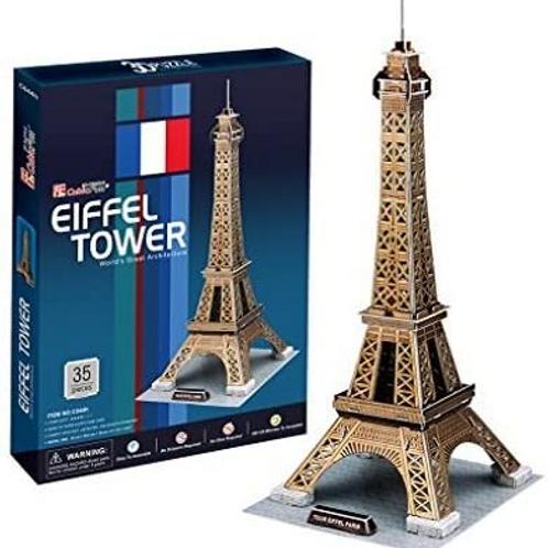 Torre Eiffel Rompecabezas 3D 35 piezas