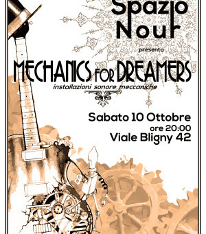 MECHANICS FOR DREAMERS              10 OTTOBRE 2015