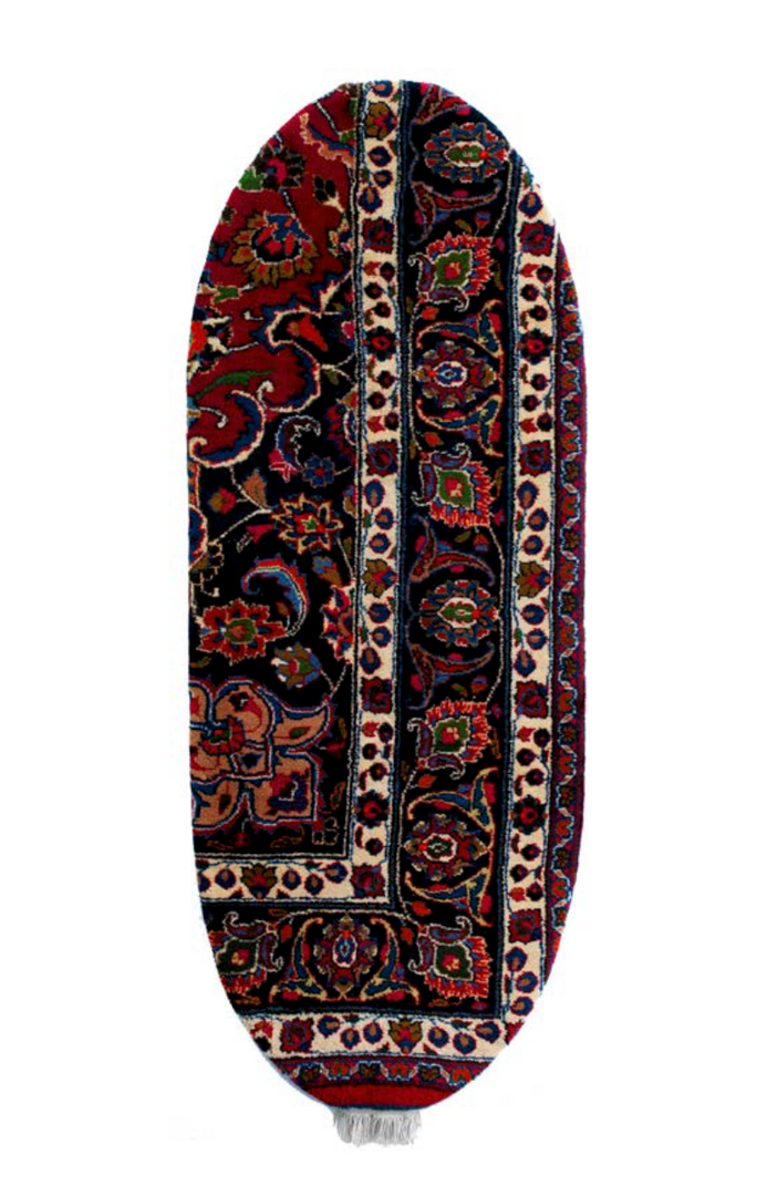 Carpet and Composition   Persian Carpet  59 x 151 cm  2018