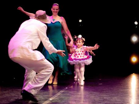 A criança que dança