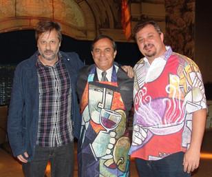 Henrique Stroeter, Ronie Von e Dennis Esteves