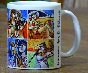 Caneca WOMEN by D. Esteves
