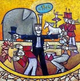 Respeitável Público - 80 x 80 cm.