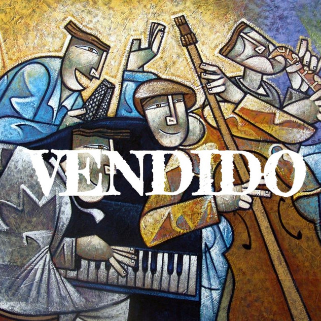 Color Jazz - 100 x 150 cm.