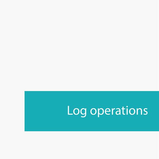 Log operations