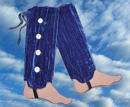 Crushed Velvet Leg Warmer Collection