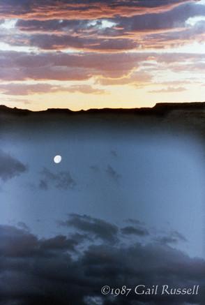 Moonrise Under Oraibi