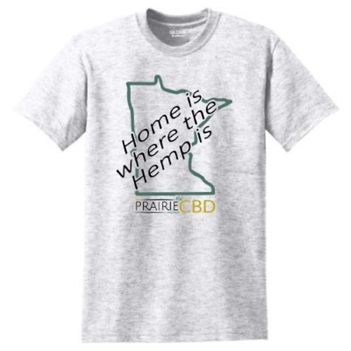 "Men's ""Home is where the Hemp is"" T-shirt"