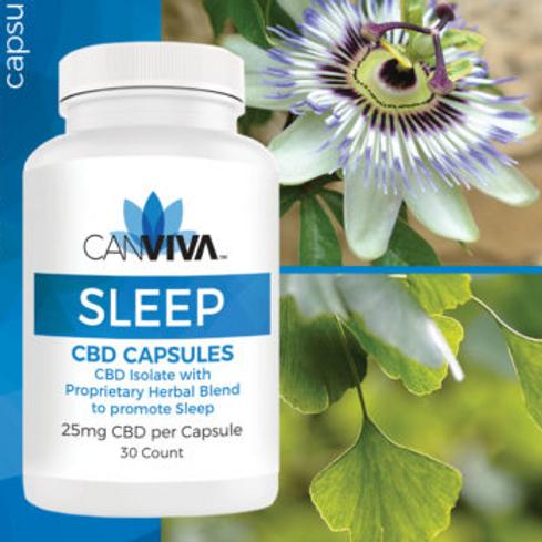 NEW! – SLEEP Capsules with 25mg CBD
