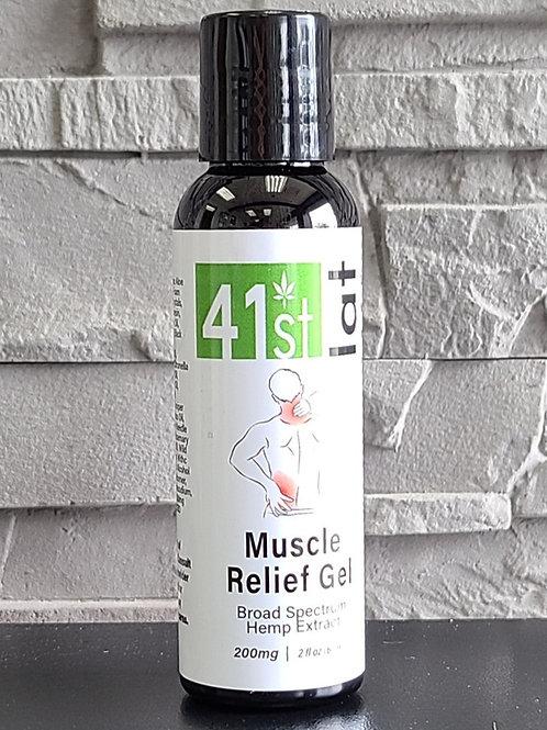 Broad Spectrum Muscle Relief Gel