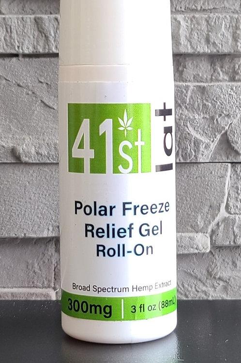 41st Lat Polar Freeze Relief Gel Roll-on