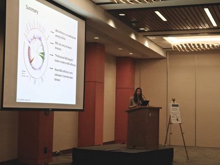 Congrats to Yasmin who won an award for her talk at the Vibrio 2019 meeting in Montreal!