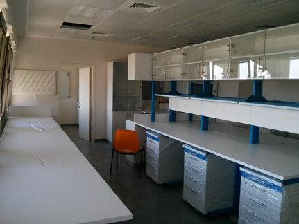 Lab renovations almost done...