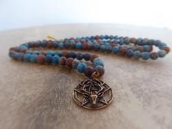 Jaspis Lava Pentagramm
