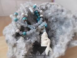 Mala Magnesit Achat Meerjungfrau