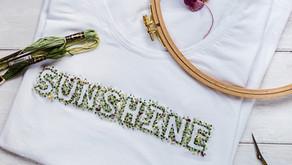 """Stickvorlage """"SUNSHINE"""""""