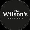 Logo_Wilsons_Deli und Bar_schwarzer Krei