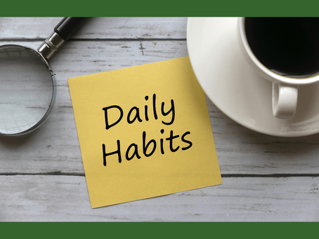 Daily habits to ease stress