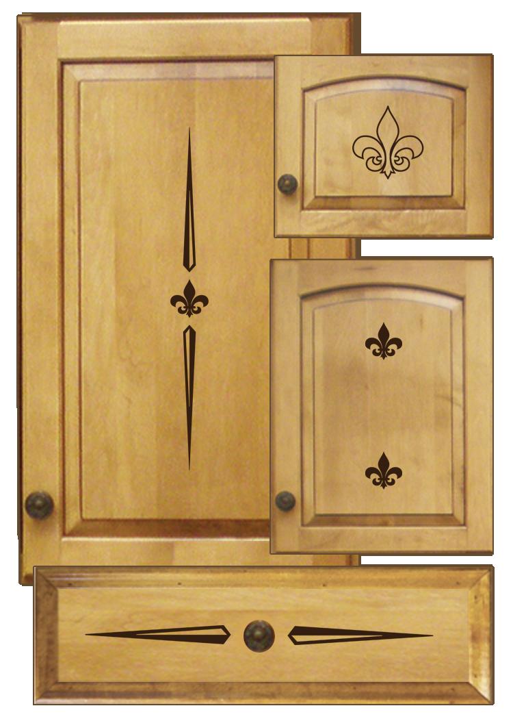Kitchen Cabinet Decals Decorative Design Kit