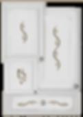 kitchen cabinet decals waves theme