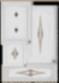 kitchen cabinet decals barbs theme