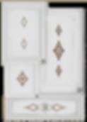 kitchen cabinet decals diamond theme