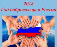 2018 Год добровольца в России