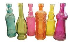Color Bud Vases