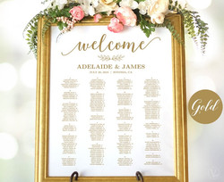 Gold Seating Chart