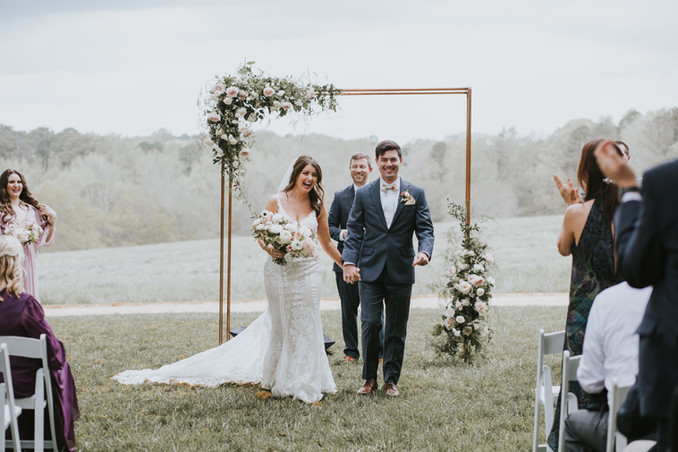 Wedding Ceremony at The Meadows