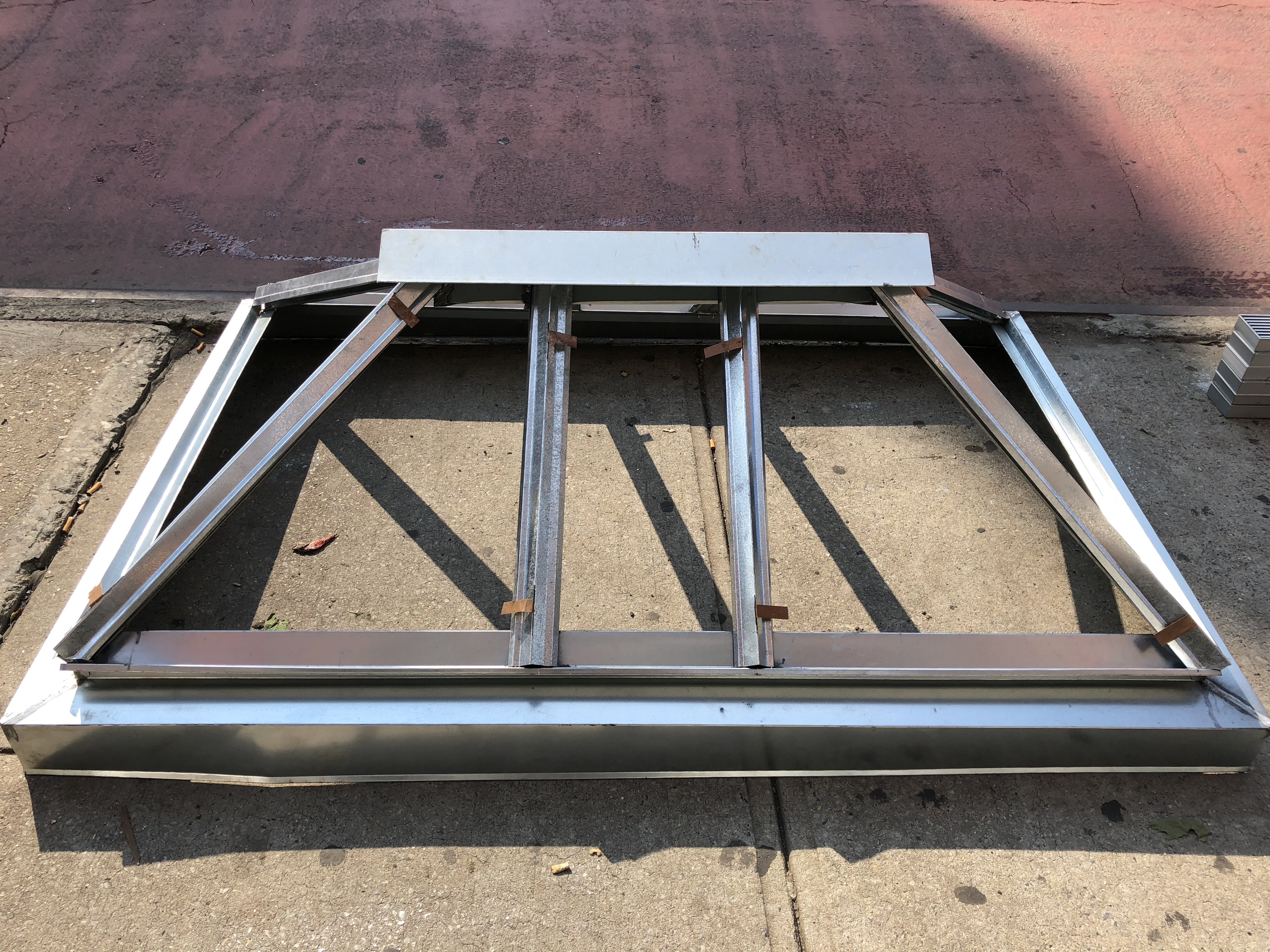 custom skylight metal frame