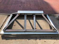 custom skylight metal frame