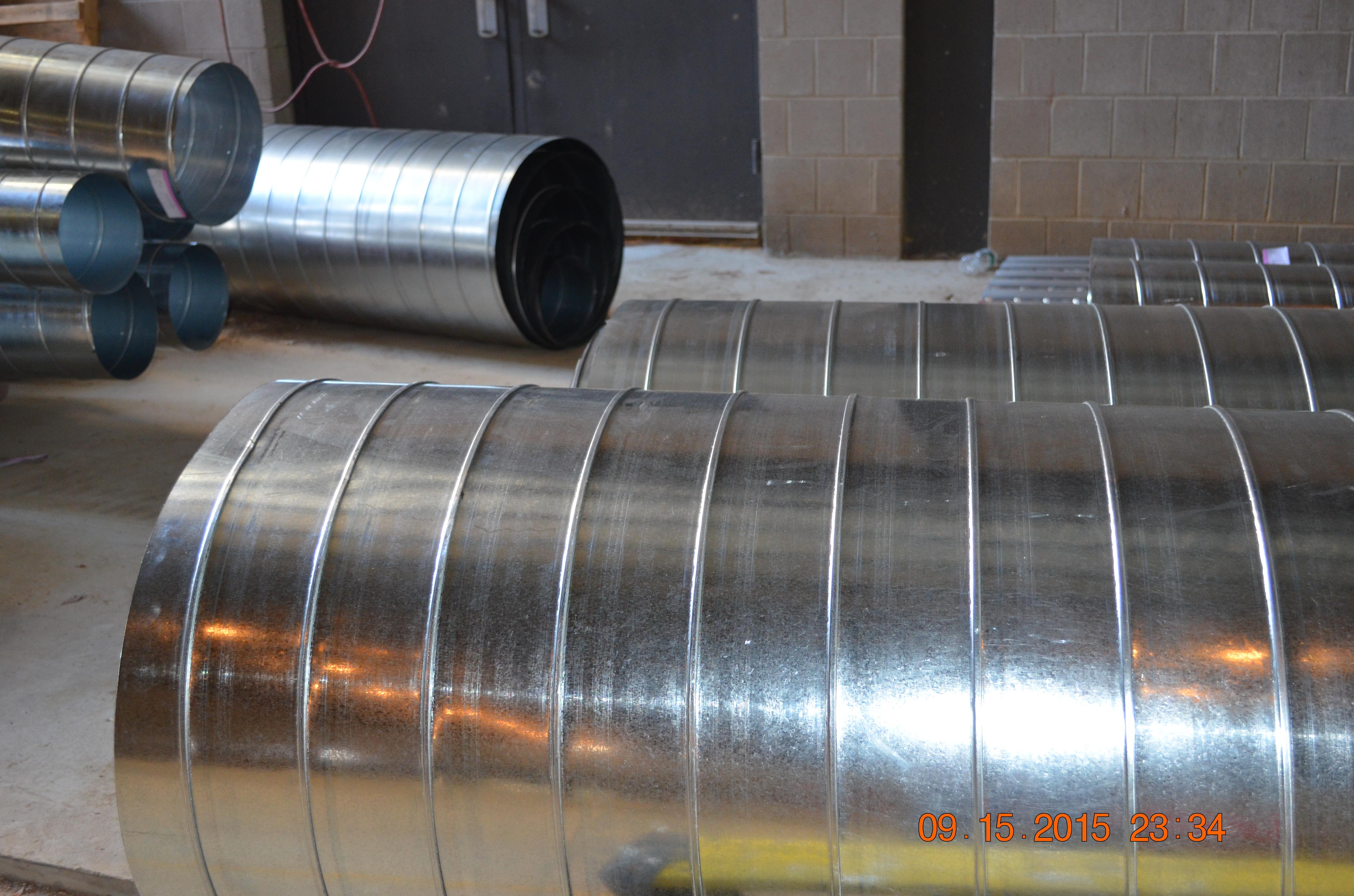 steel trash chute