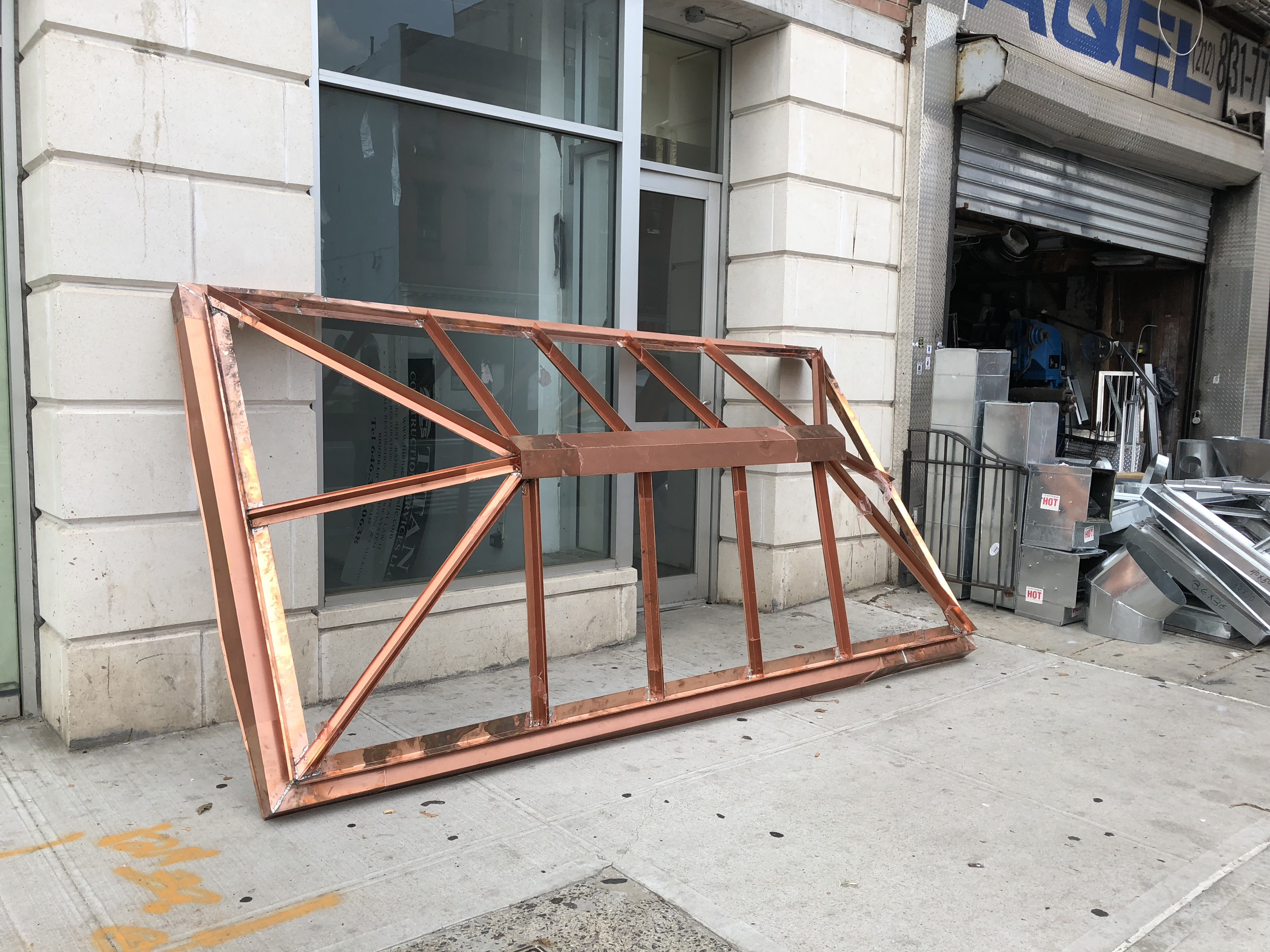 copper skylight frame NYC