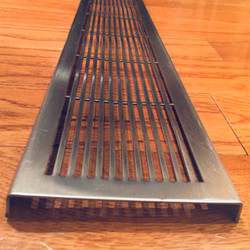perforated steel grille