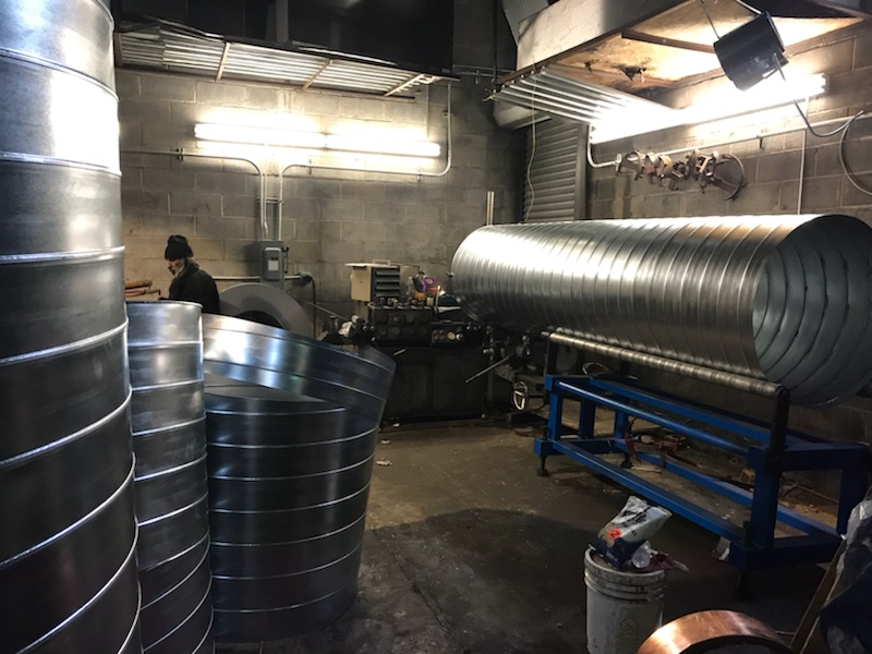 spiral duct fabrication Bronx NYC