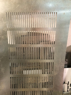 perforated grille
