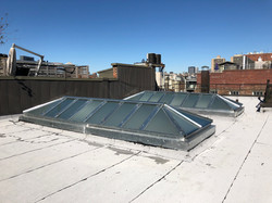 flat roof skylight replacement NYC