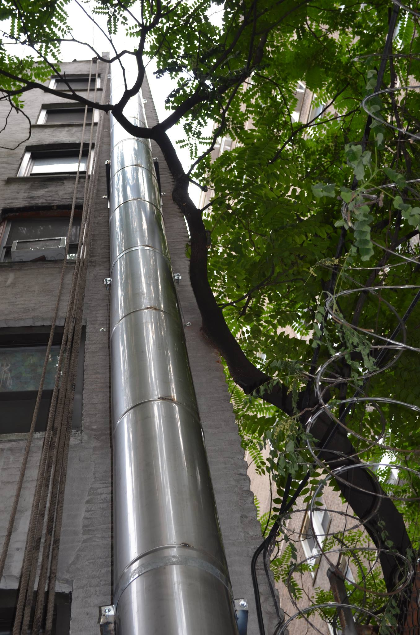 stainless steel chimney in NYC