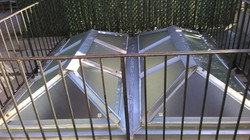 Commercial skylights on NYC roof