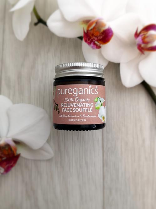 Rejuvenating Face Soufflé - with rose geranium & frankincense