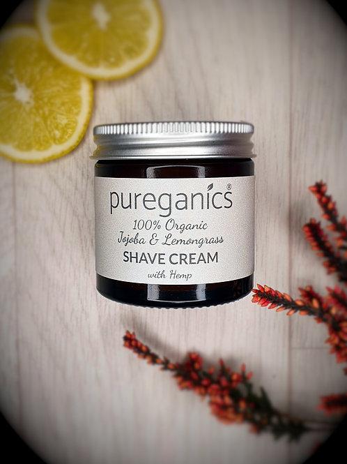Shave Cream with Lemongrass & Cedarwood