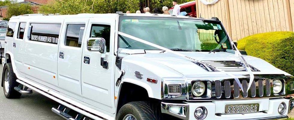 White Pearl Hummer