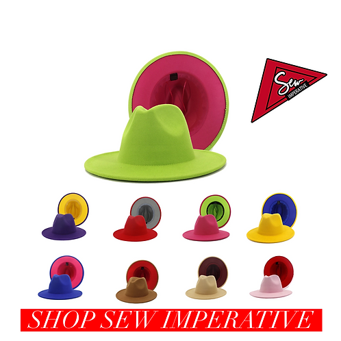 Unisex Fedora Hats