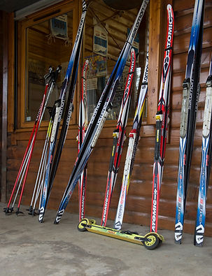A small selection of our equiptment.