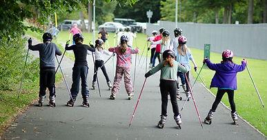 Schools Roller Skiing