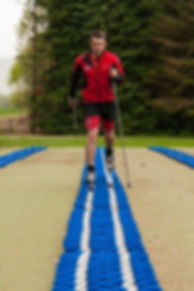 Nordic Skiing on our new striding lanes