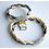 "Thumbnail: Same bracelets set 4 mom & daughter ""LIL KITTY"""
