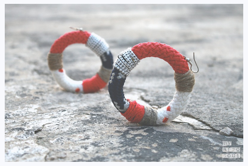 MAASAI big rings earrings